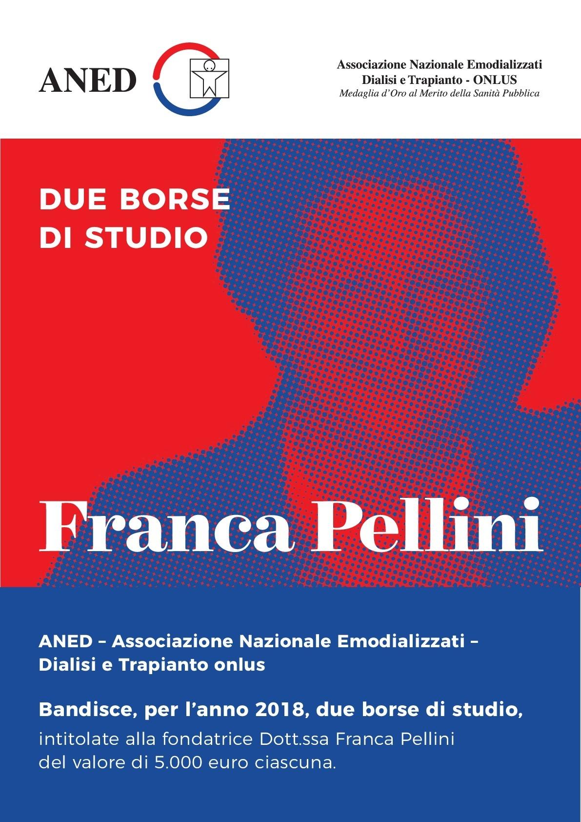 miglior fornitore in vendita online enorme sconto Borse di studio Franca Pellini   ANED