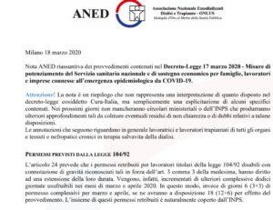 Nota decreto 17 Marzo